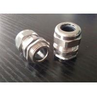 China Flameproof PG16 Cable Gland , Stainless Steel Wire Armoured Cable Glands on sale