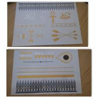 China Easy apply Temporary Flash Tattoos lasting 4 - 6 days , personalized fake tattoos wholesale