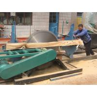 Electric Circular Saw With Carriage Circular Saw Log Cutting Machine