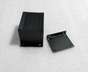 China 40x50x60mm Sandblasting 6063-T5 Aluminum Extrusion Case wholesale