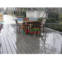 China Outdoor WPC Garden Decking Recyclable 100% Mildew Proof Environmental Friendly wholesale