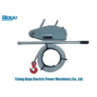 Buy cheap Rated Load Lifting Capacity 5.4Ton Wire Rope Winch Lever Pulley Block Wire Rope from wholesalers