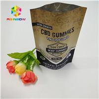 China Doypack Ziplock Aluminum Foil Pouch Premium CBD Hemp Flower Tea Packaging Smell Proof wholesale