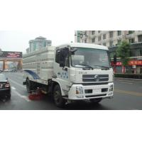 China Dongfeng 16ton Outdoor Truck Mounted Vacuum Street Sweeper 4cbm 5cbm 6000 liters 7cbm 7000 liters road sweeping truck wholesale