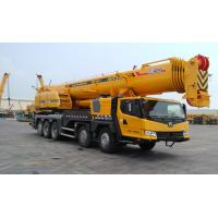 China Mobile Truck Crane , Large Truck Mounted Crane With Big Torque Starting Point wholesale
