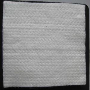 China White color 12mm thickness fiberglass needle mat used for insulation wholesale