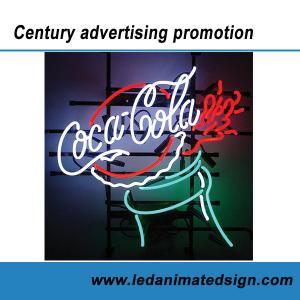 China Coca Cola advertising neon sign wholesale