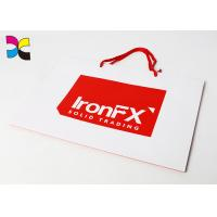 China CMYK Color Offset Printing Custom Paper Bags , Promotional Paper Carrier Bags wholesale
