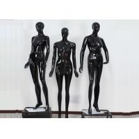China Woman Full Boday Matt Black Clothing Display Mannequin With Different Poses wholesale