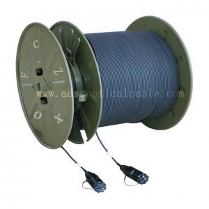 China Military Telecommunications GJFJU Armored OFNR Fiber Optic Cable wholesale