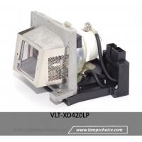 China Compatible Projector bare Lamp with lamp cage for MITSUBISHI SD420 Projector wholesale