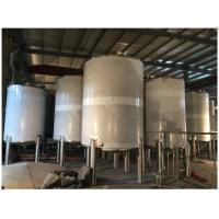 China Stainless Steel LPG / Oxygen / Nitrogen Gas Storage Tank For Pharmaceutical Use wholesale