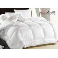 China Soft Warm Hotel Bedding Duvet / Hotel Style Duvet With Washing Label wholesale