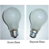 China vibration service double contact bayonet base frosted lamps wholesale