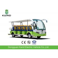 China 72V Low Speed Electric Sightseeing Car 14 Passengers Electric Personal Transport Vehicle wholesale