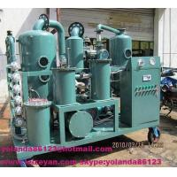 ZYD-I Double-stage vacuum Transformer oil regeneration purifier