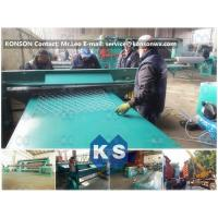 China Width 4.3M Infrared Ray Safety Gabion Mesh Welding Machine SGS Certificate wholesale