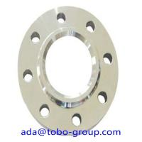"China 3000 MM Forged Steel Flanges , 2507 UNS S32750 2507 2"" 150# Stainless Steel Slip On Flange wholesale"
