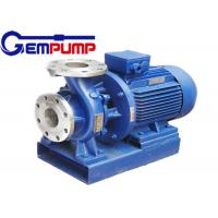 China ISW Horizontal  Hot Water Booster Pump / Pipe Centrifugal Pump wholesale