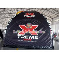 China Stable Tarpaulin Inflatable Camping Tent , Trade Show Tent With Spider wholesale