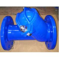 China 3'' Ductile Iron Ball check valve for water supply on sale