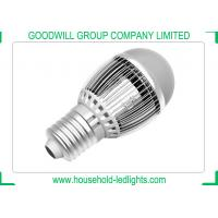 China Silver Color LED Light Bulbs E27 5000K AC 85 - 265V With Wide Voltage Range wholesale