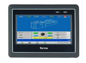 China EtherNet 7.4inch HMI Control Panels RS485 HMI LCD Display wholesale