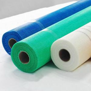 China High strength and fire - proof fiberglass mesh used for construction material wholesale