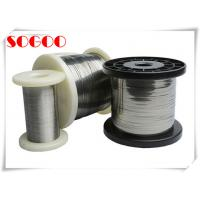 China Cr15Ni60 Nickel Chromium Alloy , Nichrome Wire Heating Element With Coating on sale