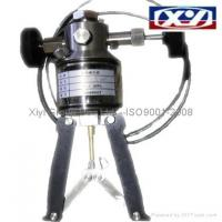 Buy cheap HYDRAULIC PRESSURE HAND PUMP ( Plier Type )Range: 0-100MPa from wholesalers