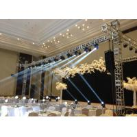 Buy cheap Indoor / Outdoor Aluminum Square Lighting Truss with Stage OEM Available from wholesalers