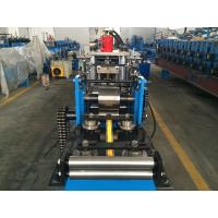 China Precision C Purlin Roll Forming Machine With Hydraulic Punching System wholesale