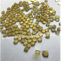 Quality Single Crystal Diamond Plate,yellow MCD, SCD plate,A grade CVD for sale