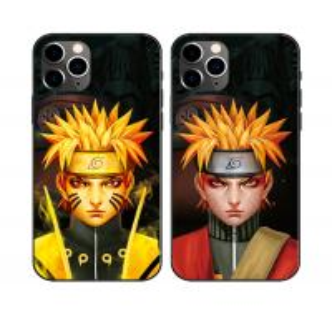 China Black Anime 3D Lenticular Flip Phone Case For Iphone 11 wholesale