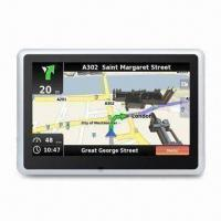 China 5-inch GPS PND Navigation System with FCC, CE and RoHS Marks, Supports ISDB-T wholesale