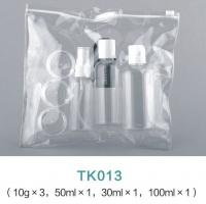 China Cosmetic Packaging 30ML 50ML 100ML Plastic Spray bottles Travel Bottle Kit With PVC Bag on sale