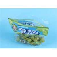 China Clear Fruit Saver Bags , Customized Food Packaging Bags For Strawberry / Grape wholesale
