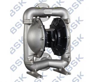 China SS Air Operated Double Diaphragm Vacuum Pump 8.3bar Self Priming wholesale