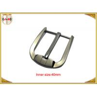 China Custom Silver Plated Zinc Alloy Belt Buckle Environmentally Friendly wholesale
