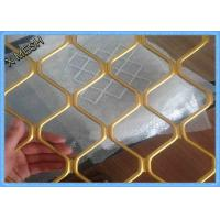 China Heavy Duty Diamond Expanded Metal Mesh Decorative Aluminum Spray Paint 4 x 8 wholesale