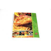 China Perfect Bound Saddle Stitched Binding , Cook Books With Glossy / Matt Lamination on sale