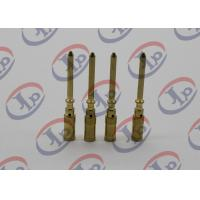 China Small Metal Parts Copper Male Pins , Precision Machining Parts+ - 0.1mm Tolerance wholesale