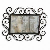 China Powder-coated Metal Photo Frame, Various Colors are Available, BSCI Audit wholesale