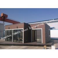China European Style Modular Prefab Container House For Accommodation , Quick Assembly wholesale
