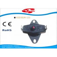 China KSD302 series manual reset Snap Disc Thermostat / bi metal thermostat for heat protection wholesale