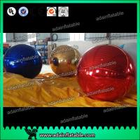 China 1m Inflatable Mirror Ball With Reflection Effect For Wedding Decoration wholesale