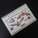 China fashion gold ink temporary tattoos wholesale