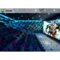 China Lifelike Experience 4D Theater Seats Suitable For Hollywood Movies wholesale