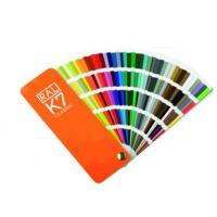 China Ral color card number Ral k7 classic color chart Ral k7 colour chart ral k7 ral colour chart international metal card wholesale