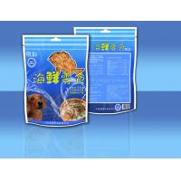 China PET / CPP Side - Seal Stand Up Zipper Sea Food Snack Bag Packaging wholesale